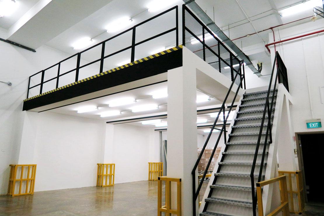 v8000 mezzanine